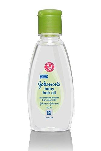 Johnson's Baby Hair Oil 60ml - Sherza Allstore