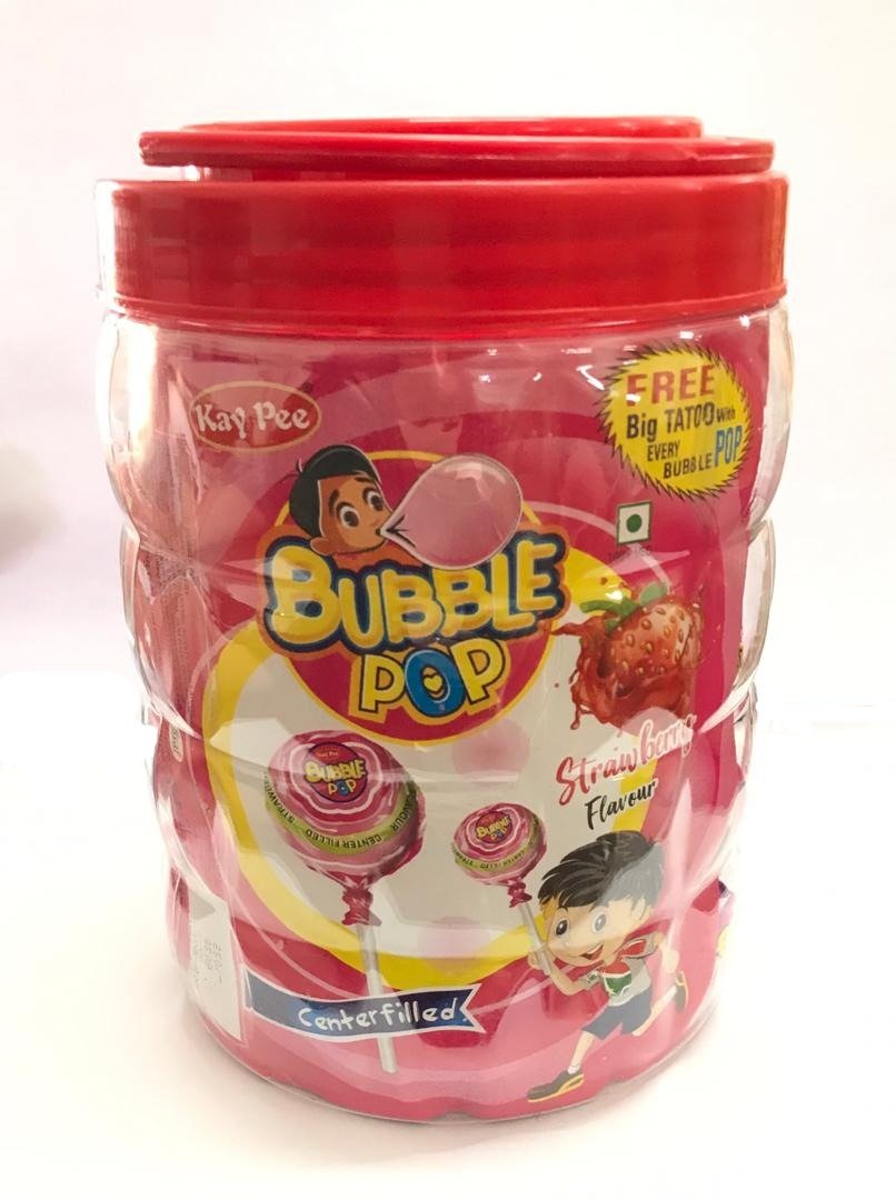 Double Bubble 850g (Strawberry Flav.) Filled Lollipop - Sherza Allstore