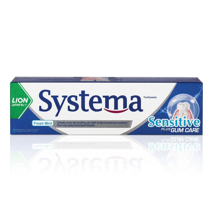 Lion Systema Sensitive Fresh Mint Toothpaste 100g - Sherza Allstore