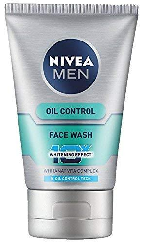 Nivea Men Oil Control Face Wash 100ml - Sherza Allstore