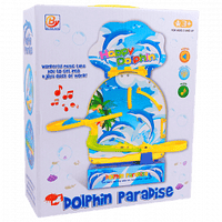 Happy Dolphin Paradise With Sound And Music - Sherza Allstore