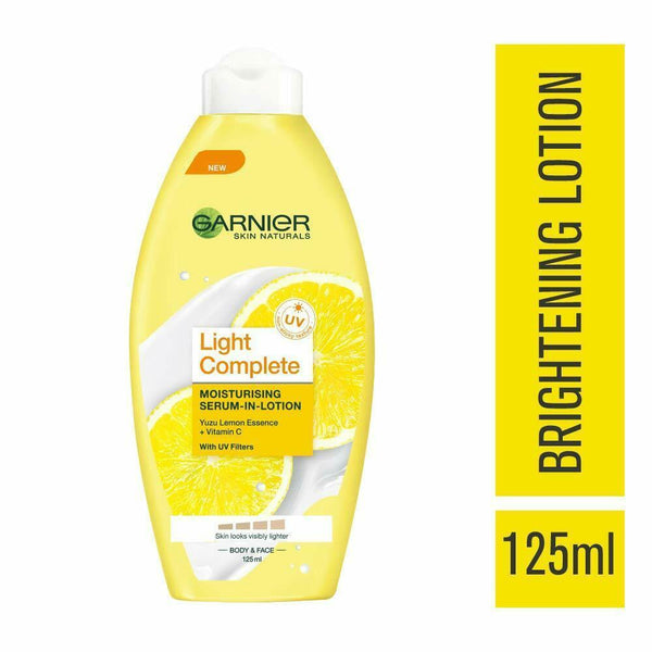 GARNIER Skin Naturals Light Complete Lotion 125ml - Sherza Allstore