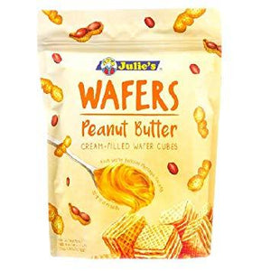 Julie's Wafers Peanut Butter Cream-Filled Wafer Cubes 150g - Sherza Allstore