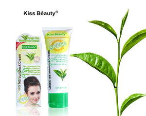 KISS BEAUTY Greem Tea Sunblock Cream 50ml SPF 60