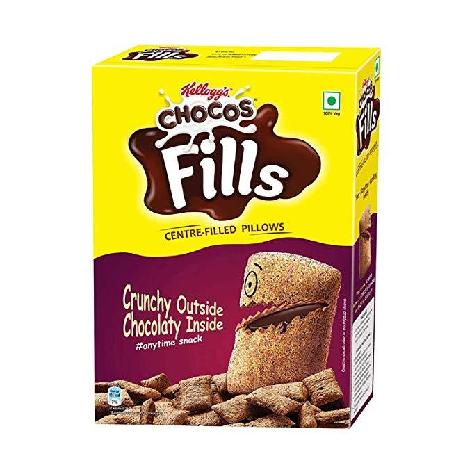 Kellogg's Chocos Fills Centre Filled Pillows 250g - Sherza Allstore