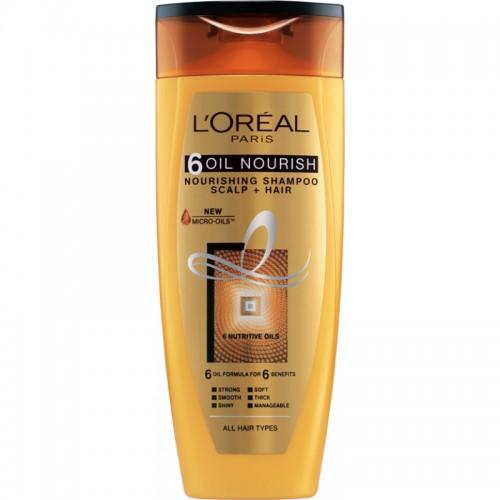 L'oreal Paris 6 Oil Nourishing Shampoo 192.5ml - Sherza Allstore