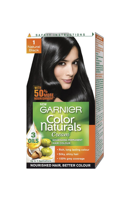 GARNIER Color Naturals Natural Black 1 35ml+30g - Sherza Allstore