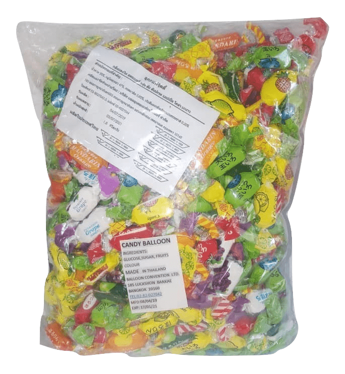 Candy Balloon Big Packet - Sherza Allstore