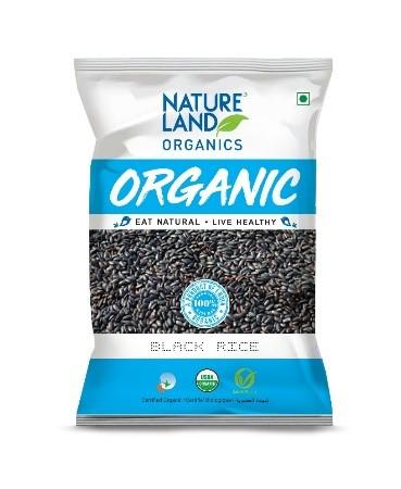 BLACK RICE 500g (NATURE LAND ORGANICS) - Sherza Allstore