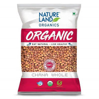 CHANA WHOLE 500g NATURE LAND ORGANICS - Sherza Allstore