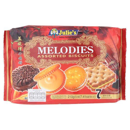 Julie's MELODIES ASSORTED BISCUITS 210g - Sherza Allstore