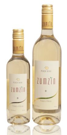 Zumzin Peach Wine 750ml - Sherza Allstore