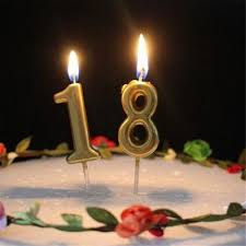 Birthday Candles (NUMBERS)