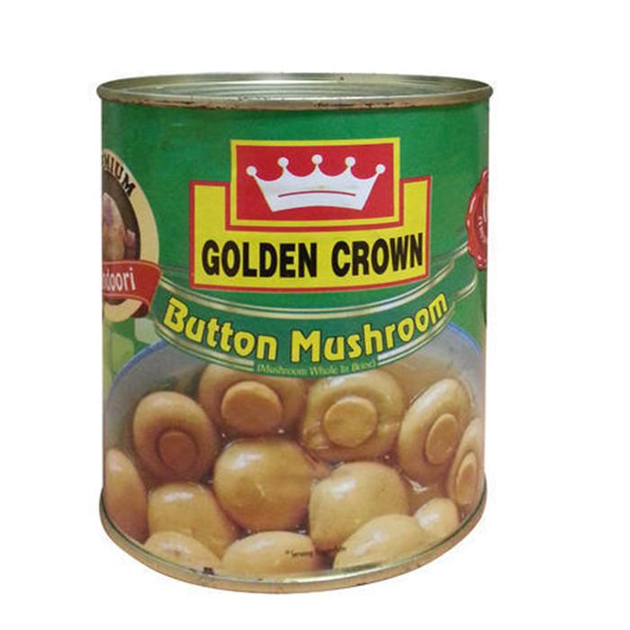 Golden Crown Button Mushroom net 400g