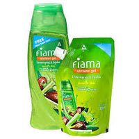 Fiama Shower Gel Lemon Grass & Jojoba 250ml Free 185ml Refill
