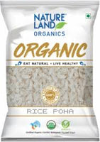 Nature Land Organics Rice Poha 500g