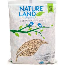 Nature Land organic  Cowpea Black eye 500g - Sherza Allstore