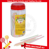 MIX FRUIT STICK CANDY 72PCS.