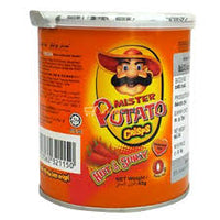 MISTER POTATO CRISPS HOT & SPICY Flavour 45g
