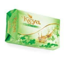 Keya Soap 75g (Enriched with Vitamin E & Cocoa Butter )Pink/Blue/Green