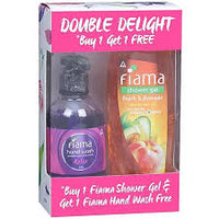 Fiama Peach & Avocado Shower Gel Free Fiama Hand Wash 250ml