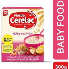Nestle Cerelac with Multigran & Fruits 300g - Sherza Allstore