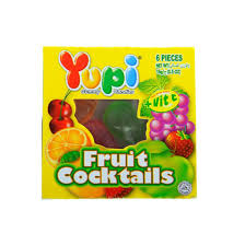 Yupi Fruit Cocktails 15g