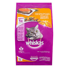 Whiskas Grilled Salmon steak  Flavour Adult 1+years 1.2kg