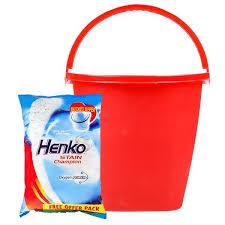 Henko Stain Champion 3kg+ bucket offer - Sherza Allstore