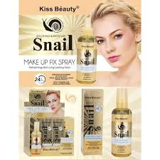 Kiss Beauty Snail Make Up Fix Spray - Sherza Allstore