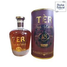 TER Single Malt Whisky(Aged 18 Years) 700ml - Sherza Allstore