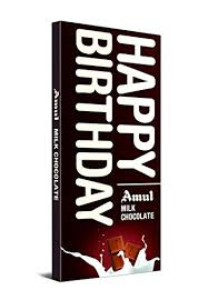 Amul Happy Birthday Milk Chocolate 150g - Sherza Allstore