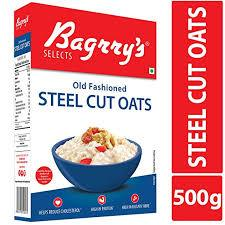 Bagrrys Old Fashion Steel Cut Oats 500g - Sherza Allstore