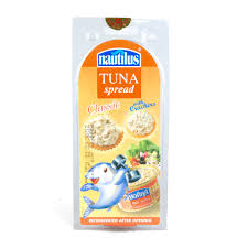 Nautilus Tuna Spread Classic With Crackers 30g