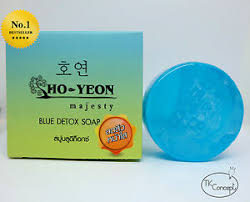 Ho Yeon Blue Detox Soap