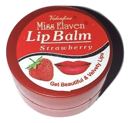 Miss Elaven Strawberry Lip Balm 10ml - Sherza Allstore