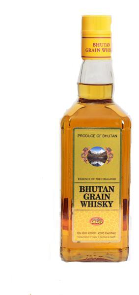 Bhutan Highland Grain Whisky 750ml - Sherza Allstore
