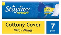 Stayfree Secure Regular 7 Pads (30/-)