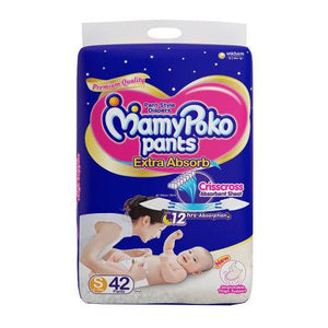 Mamy Poko Pants Extra Absorb Diapers S42 Pants