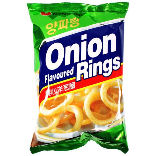 Nongshim Onion Flavoured Rings 90g - Sherza Allstore