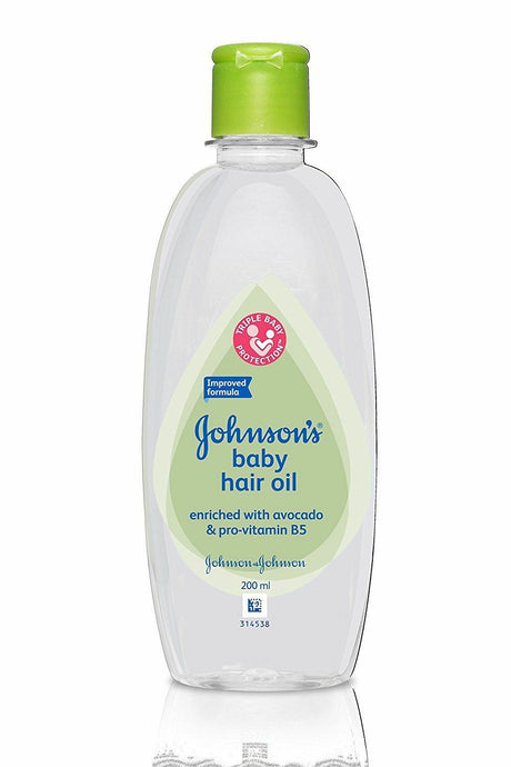 Johnson's Baby Hair Oil 200ml - Sherza Allstore