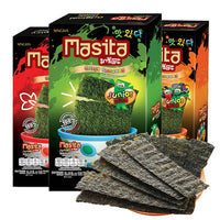 Masita Crispy Seaweed Spicy Korean BBQ Flavour (Junior)3.6g