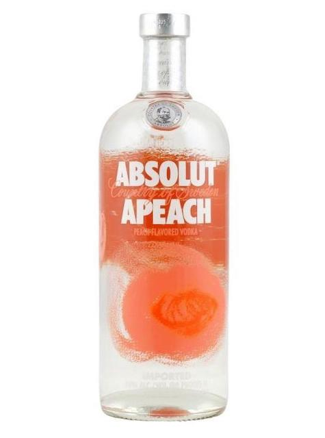 Absolut Peach Vodka 1ltr