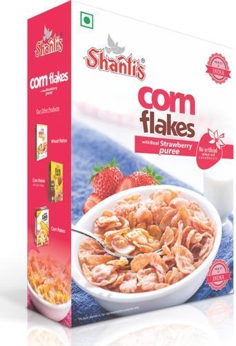 Shanti's CORN FLAKES (Strawberry) 125g - Sherza Allstore