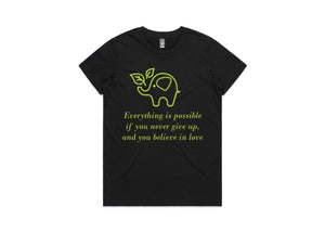 Womens Everything is Possible T-Shirt