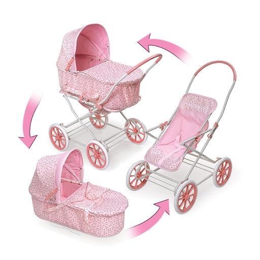 3 in 1 - Stroller, Bassinet and Baby Carriage