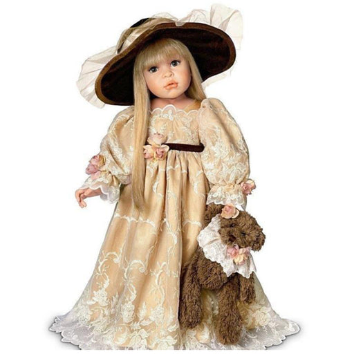 "Catherine - 24"" Victorian Doll by Linda Rick"