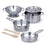 Let's Play House Stainless Steel Pots and Pans