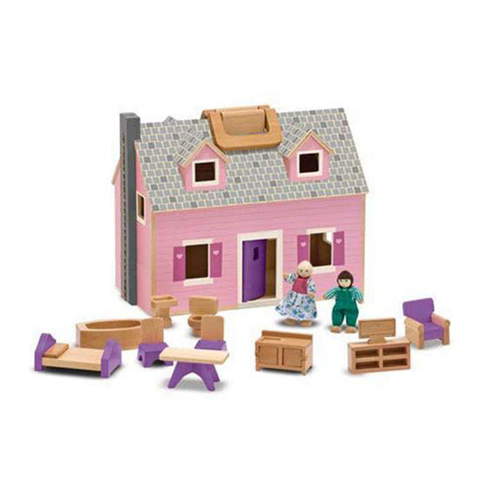 Fold and Go Mini Dollhouse