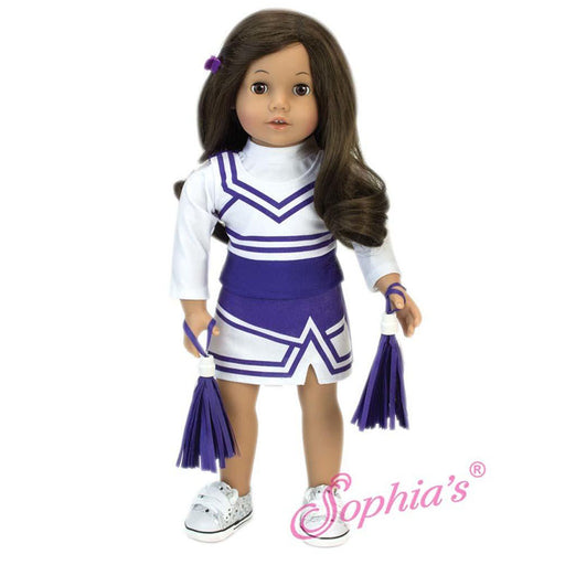 Cheerleader Outfit - Purple
